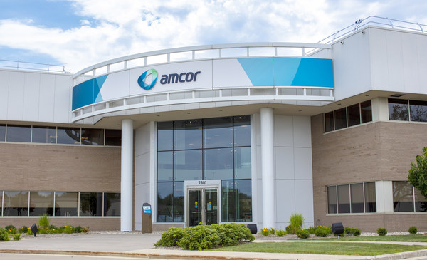 Outside one of Amcor's Innovation Centers, USA