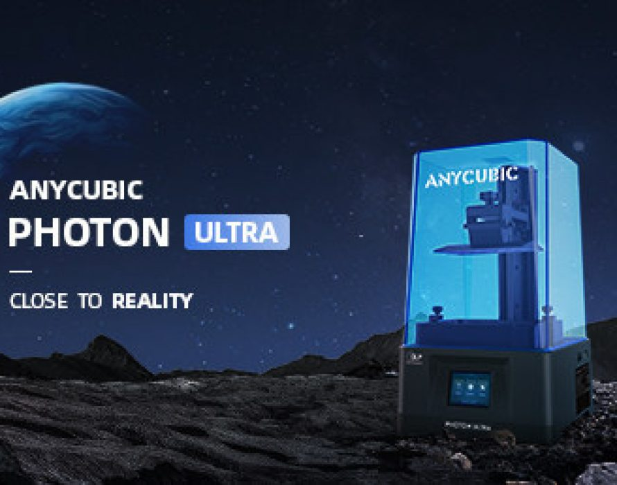 Anycubic's Photon Ultra, the New DLP 3D Printer, Launches on Kickstarter
