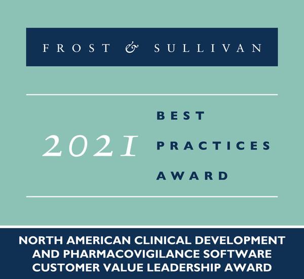 2021 North American Clinical Development and Pharmacovigilance Software Customer Value Leadership Award