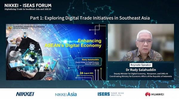Dr. Rudy Salahuddin emphasized crucial role of digital economy