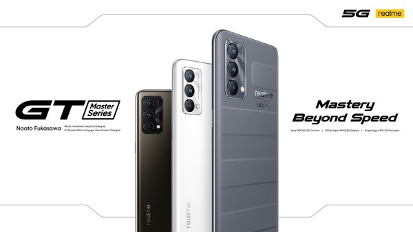 Best-designed Flagship Killer realme GT Master Edition Series Launch Globally