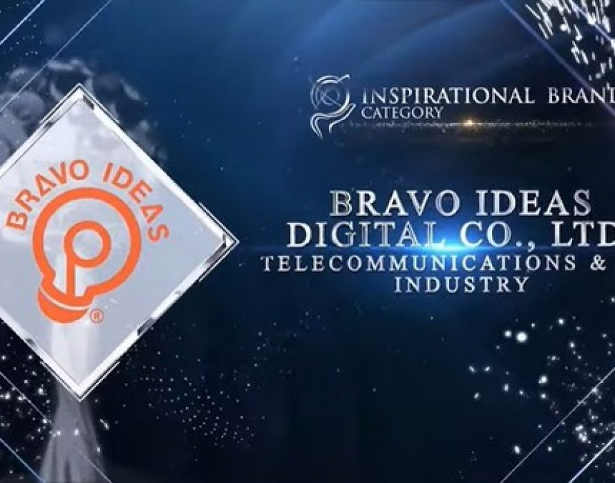 Bravo Ideas Digital Co., Ltd. Awarded at the Asia Pacific Enterprise Awards 2021 Regional Edition for Inspiration Brand Category