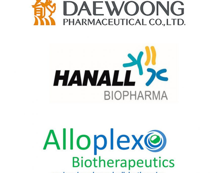 Daewoong Pharmaceutical and Hanall Biopharma Invest $1M USD in Alloplex Biotherapeutics