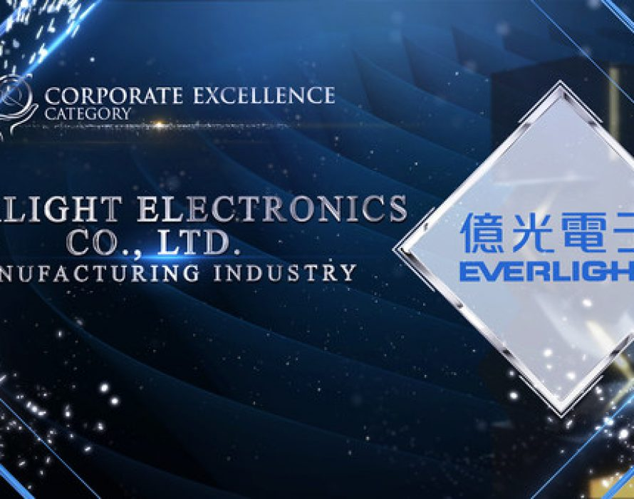 EVERLIGHT Electronics Co., Ltd. received Asia Pacific Enterprise Awards 2021 Regional Edition's Corporate Excellence Award
