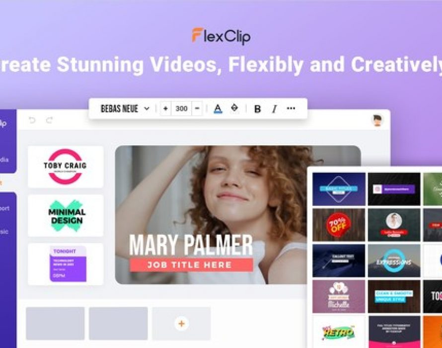 FlexClip Launches Resource-Rich Video Maker for Creating Stunning Videos