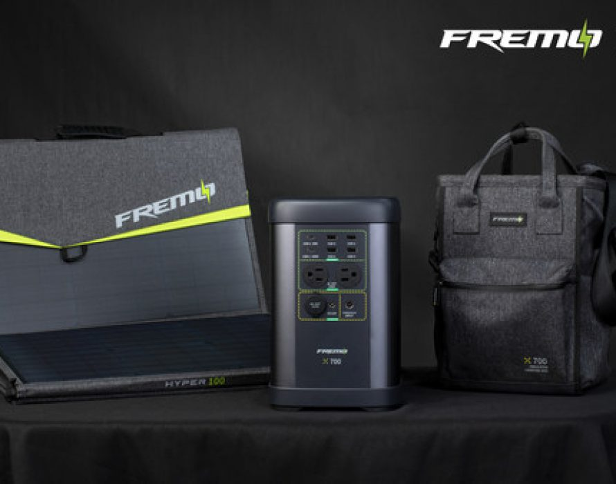 Fremo X700 – The World's Smallest 1000W Power station