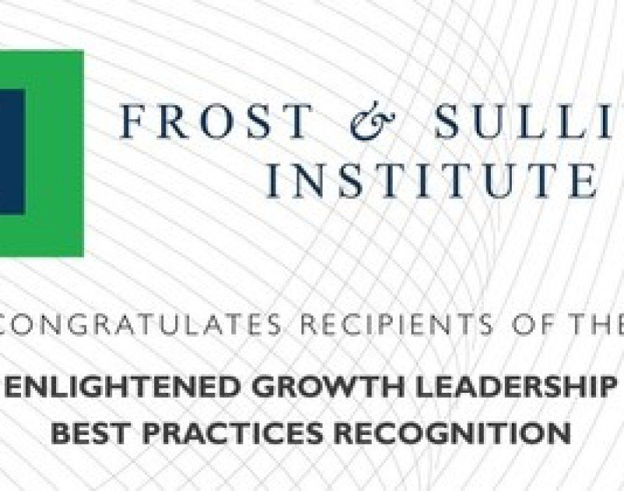 Frost & Sullivan Institute Lauds Best-in-Class Companies for Enlightened Growth Leadership