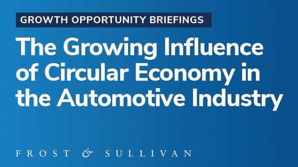 Circular Economy in the Automotive Industry