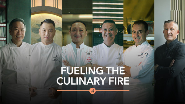 """""""Fueling the Culinary Fire"""" by Marriott Bonvoy explores the creative minds of some of Hong Kong and Macau's greatest chefs."""