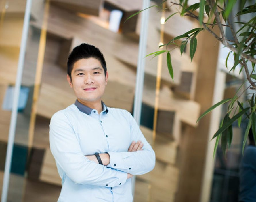 George Zhang is bridging the gap between east and west