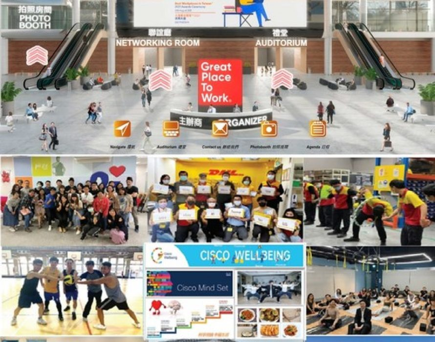 Great Place to Work(R) releases its Best Workplaces in Taiwan(TM) 2021 list