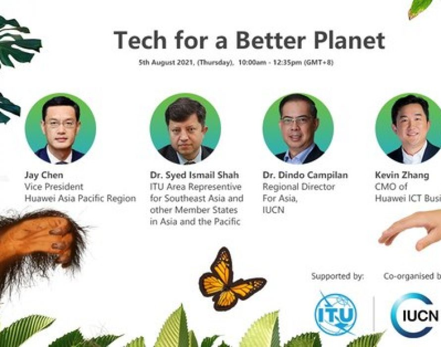 Huawei, IUCN join hands to preserve biodiversity in APAC with tech innovations