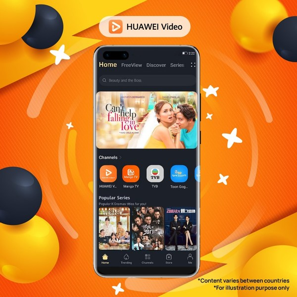 HUAWEI Video expands its local and international content to provide an enriched viewing experience for Philippines users. The key additions include content offerings from the ABS-CBN, Paramount Video, CJ E&M, The Explorers and more. For this month of August, HUAWEI Video users also get to subscribe premium service for the first month at discounted price of PHP 8 and enjoy free movies every weekend.