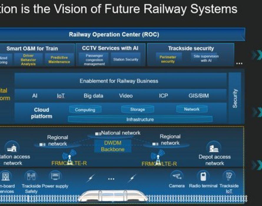 Huawei Vows to Enable Railway Digitalization in APAC