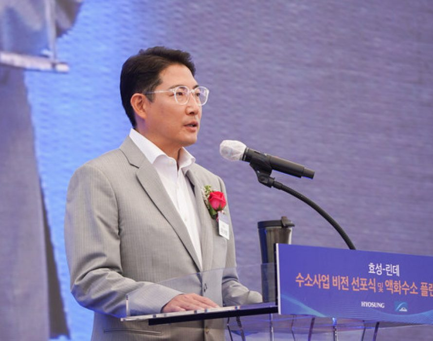 Hyosung Chairman Hyun Joon Cho, breaking First Half of 2021 with Highest-Ever Revenue Growth