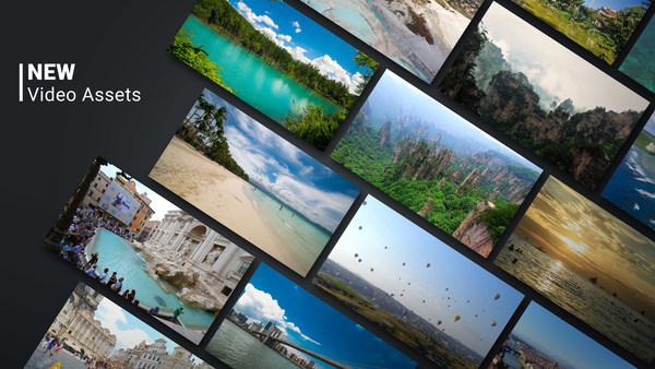 NEW Video Assets by KineMaster