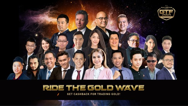Fullerton Markets is launching Gold Trading Festival 2021! Ride the Gold Wave with a strong lineup of renowned speakers, successful gold traders and Fullerton Markets' very own Market Strategists, sharing their insights on gold trading!