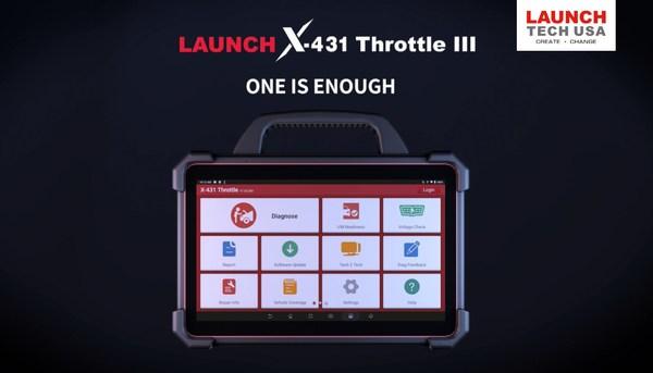 Launch X-431 Throttle III