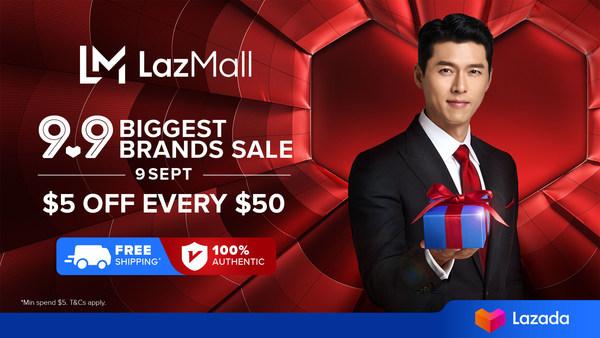 Lazada unveils Hallyu super star Hyun Bin as first LazMall regional brand ambassador