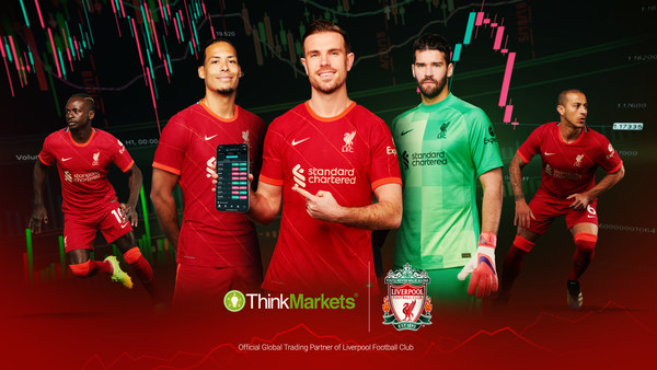 ThinkMarkets: official trading partner of Liverpool FC
