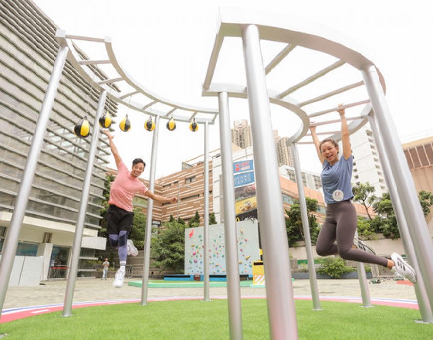 Lok Fu Place Presents the Summer 'SPORTIVAL' Campaign – Virtual Reality Skydiving over Urban Hong Kong