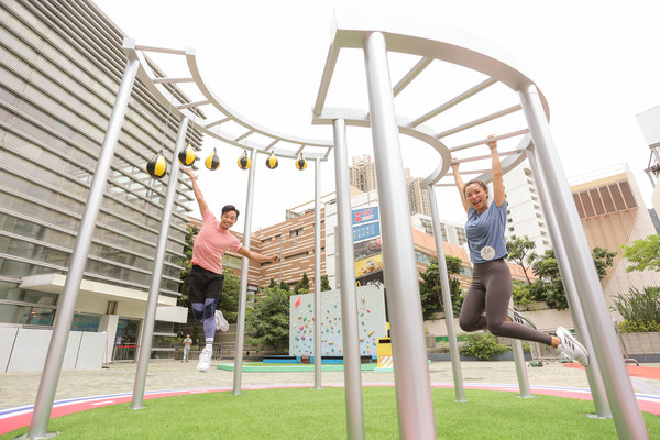 The large-scale 'SPORTIVAL' campaign organised by Lok Fu Place combines a sports gala with a carnival to promote a green and healthy lifestyle.