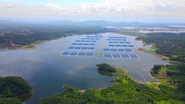 Masdar joint venture reaches financial close and starts construction on Indonesia's first utility-scale floating solar power plant