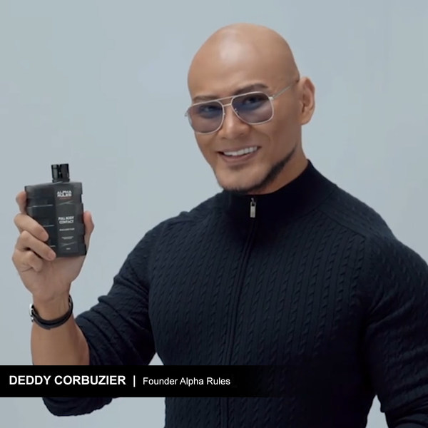 Deddy Corbuzier, A List Celebrity and Founder of Alpha Rules, at Online Grand Launching of Alpha Rules Brand