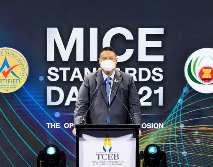 MICE Standards Day 2021 – 194 Venues Achieve Thailand MICE Venue Standard