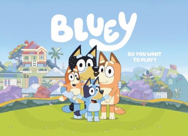 Multi award-winning Australian children's series, Bluey, heads to EBS on 3 September!