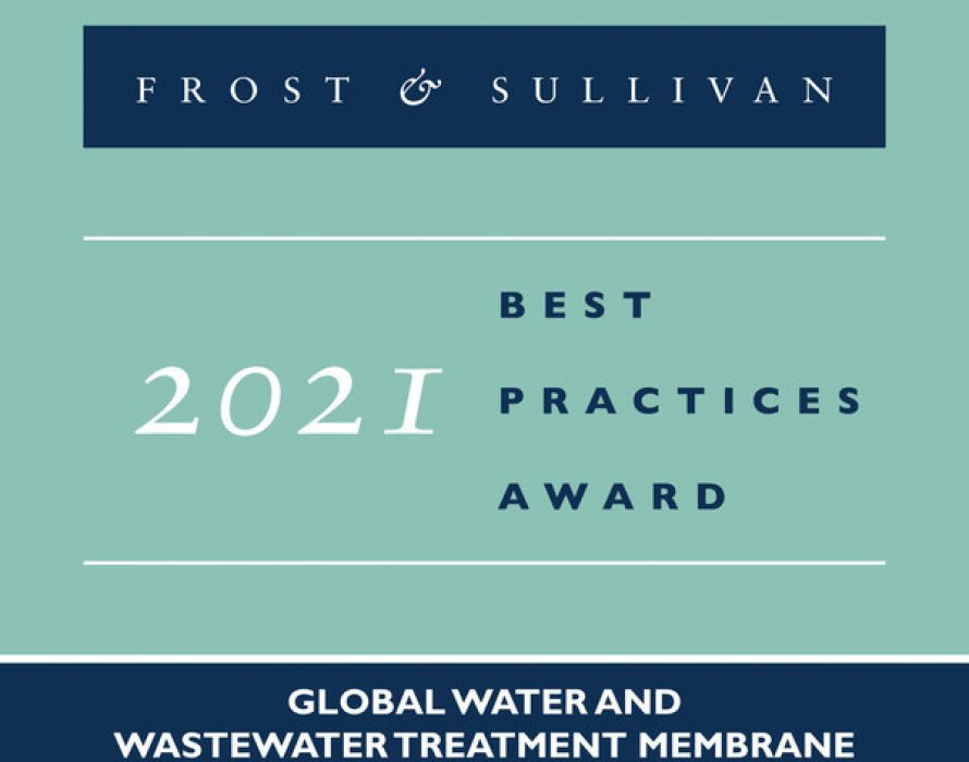 NX Filtration Lauded by Frost & Sullivan for Its Industry-leading, Sustainable Nanofiltration Solutions