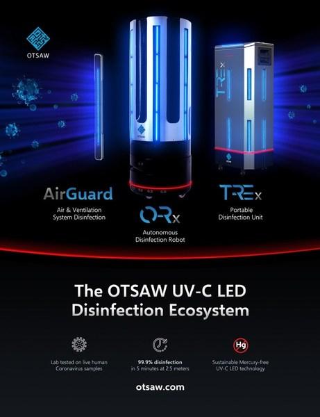 OTSAW UV-C LED Disinfection Ecosystem