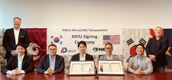 PABLO AIR and NGL Transportation MOU Signing Ceremony