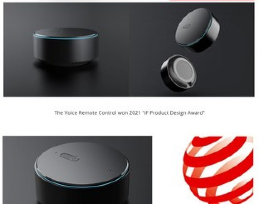 Products Empowered by Tuya Smart Design Win iF DESIGN AWARD 2021 and Red Dot Design Award 2021