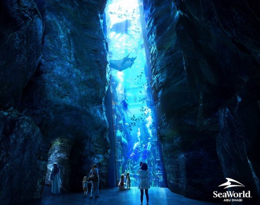 SeaWorld® Abu Dhabi on Yas Island Set to Feature the World's Largest Aquarium