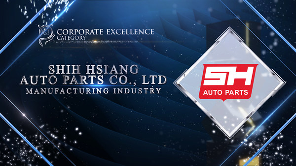 Shih Hsiang Auto Parts Co., Ltd. was honoured for Corporate Excellence Award at the Asia Pacific Enterprise Awards 2021 Regional Edition