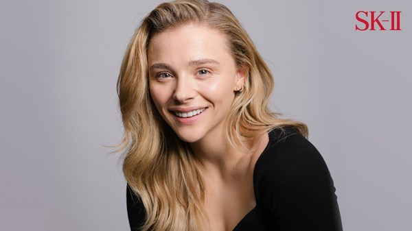 Chloe Moretz in her 2021 iconic remake of her first 2018 SK-II campaign