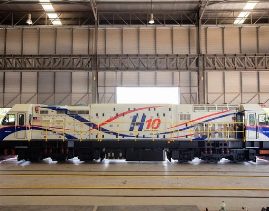 SMH Rail launches its latest innovation in the 'H10 Series' Locomotive Towards Green Mobility