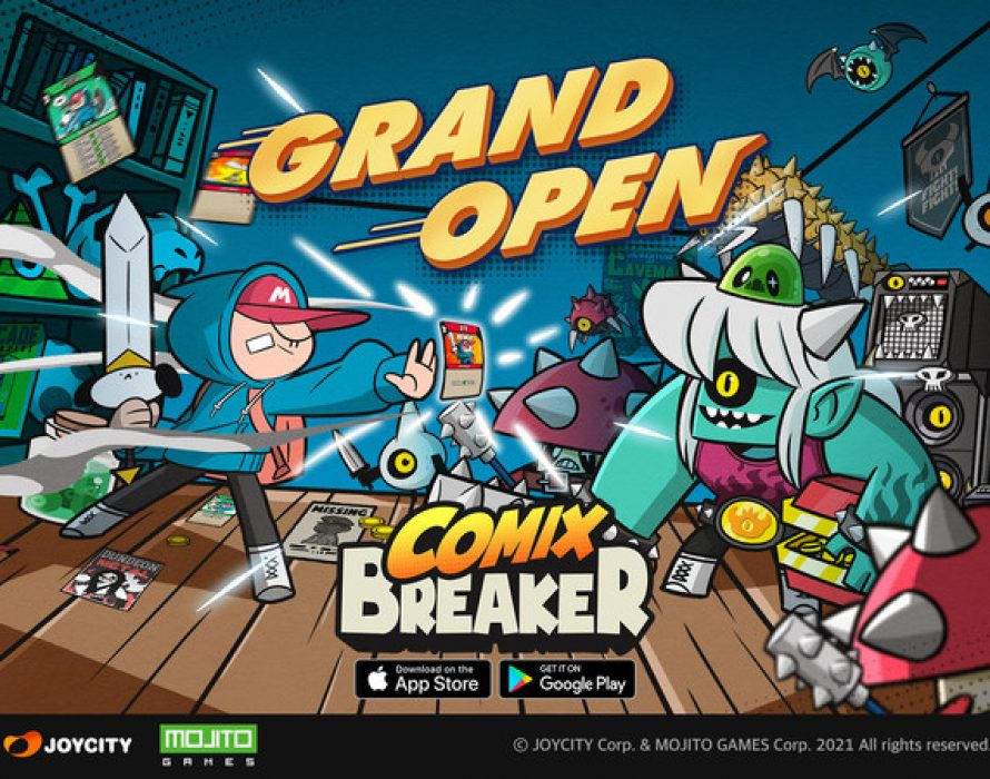 """Time Attack Card RPG """"Comix Breaker"""" Revealed"""