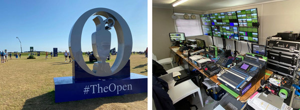 Unique Ability of TVU RPS to Synchronize Transmission of Multiple Feeds Over IP Networks Enriches Golf Broadcast for Japanese Audience