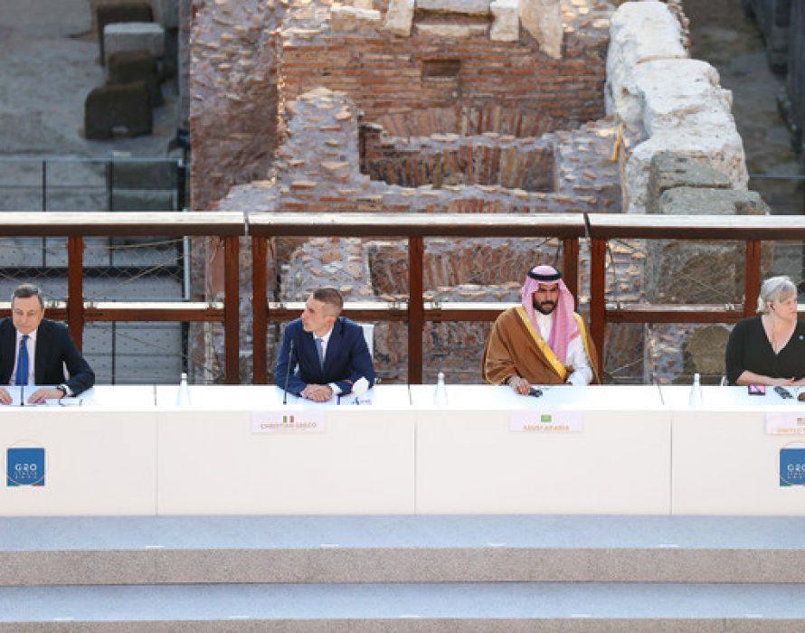 "UNESCO lauds the return of ""historic"" Saudi-initiated cultural meeting during Italian G20"