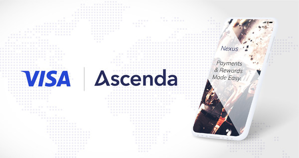 Visa announced it will be the first payments network globally to leverage Ascenda's new Nexus platform, which will enable Visa's partners to adopt a comprehensive new rewards program for their customers.