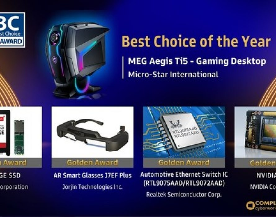 Winners of COMPUTEX TAIPEI 2021 Best Choice Award Announced Showcasing a New Generation of Digital Transformation Solutions