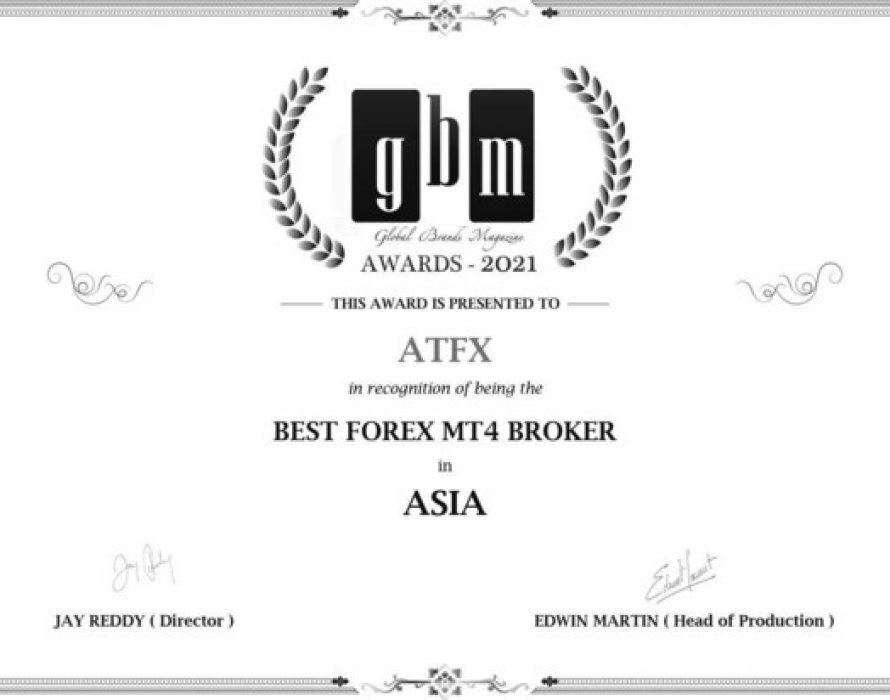 """ATFX Wins the Award of """"2021 Best Forex MT4 Broker in Asia"""""""