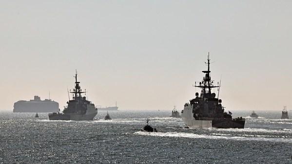 Royal Navy Offshore Patrol Vessels, HMS Tamar and HMS Spey