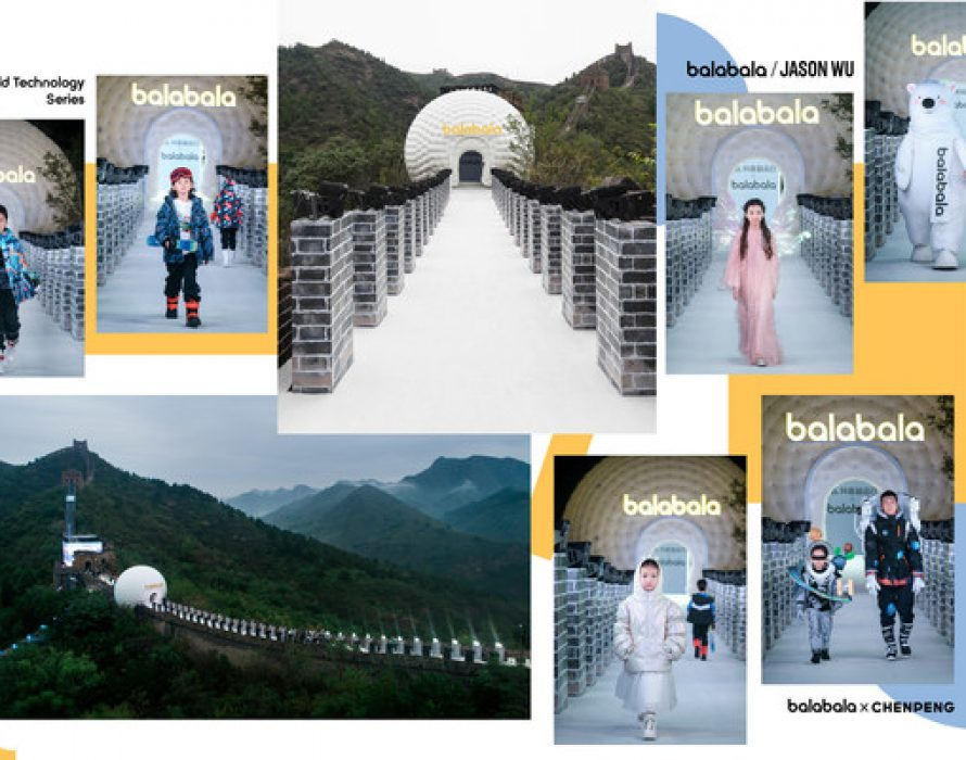 Balabala Big Fashion show at one of the seven wonders of the world – The Great Wall of China –