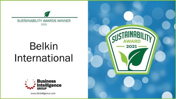 Belkin International Awarded Sustainability Leadership Award