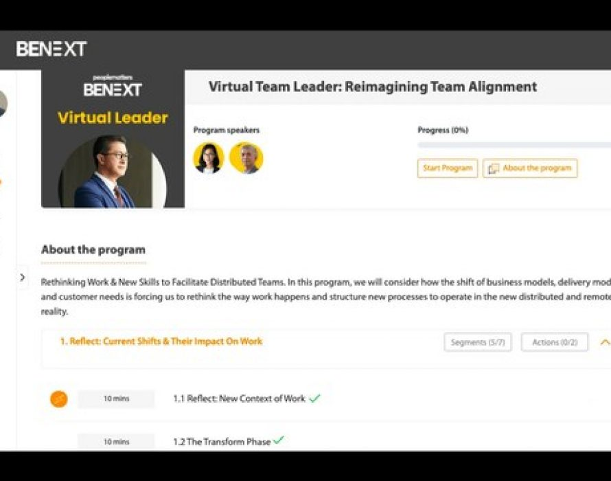 BeNext, a Cohort-based Digital Learning Platform for the HR Community, now offers courses in both English and Spanish