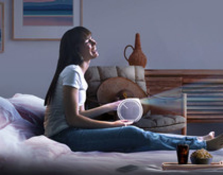 BenQ Launches World's 1st Smart LED Mini Projector with 2.1 CH Speakers, Bringing Cinematic Entertainment to Any Home