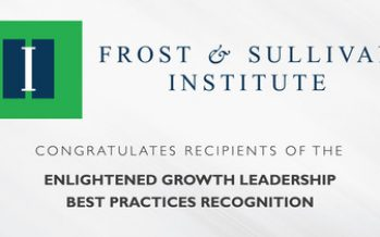 Best-in-Class Companies Earn Enlightened Growth Leadership Recognition from Frost & Sullivan Institute